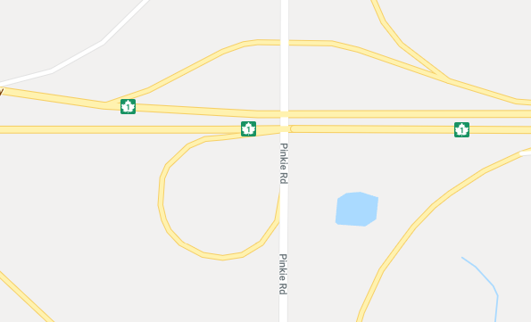 Delays at Highway 1 and Pinky Road after rollover Monday night