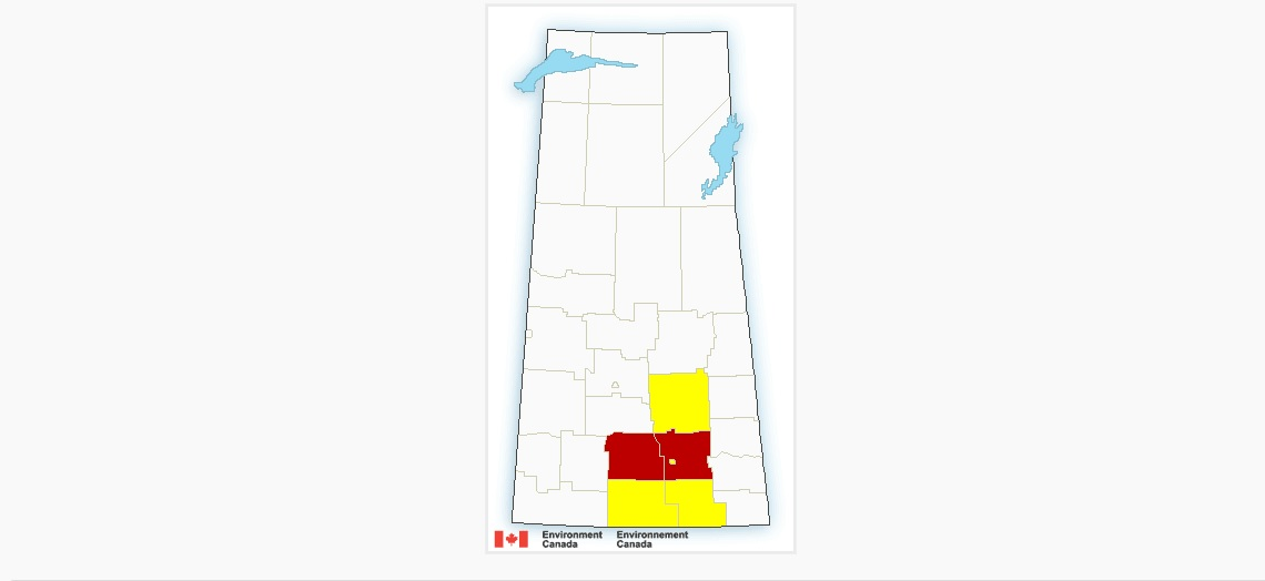 UPDATE: Regina and surrounding under severe thunderstorm warning