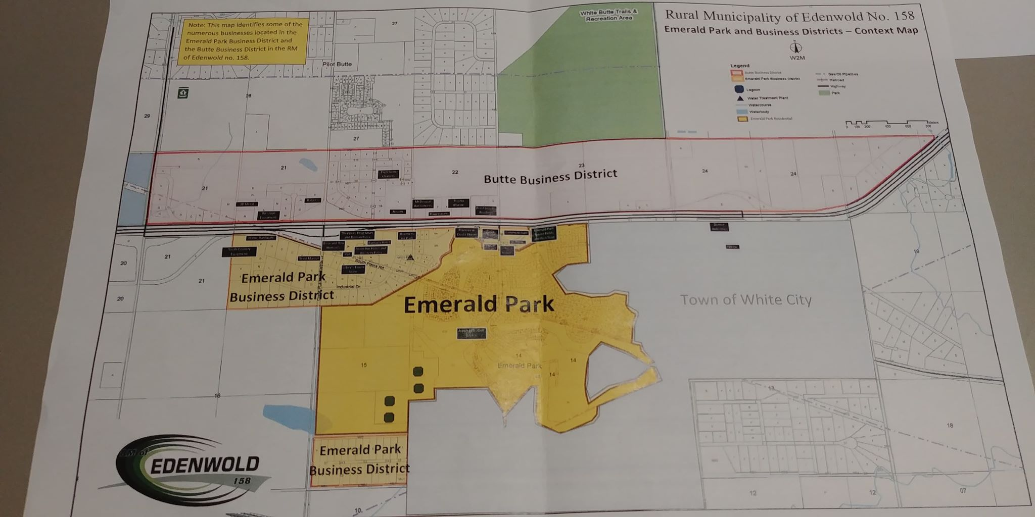 RM of Edenwold left with many questions after White City open house