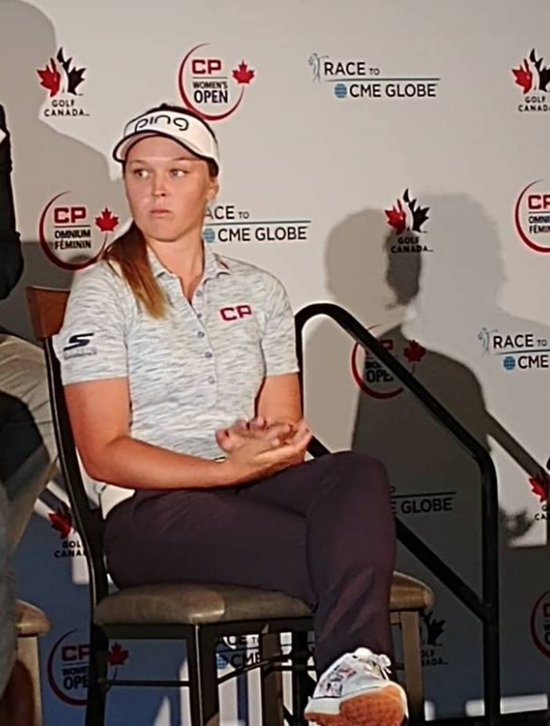Brooke Henderson looks forward to challenge Wascana will bring at CP Canadian Women's Open