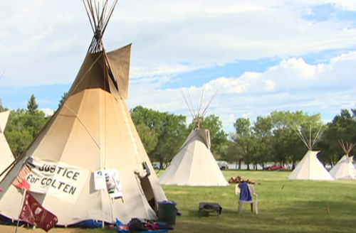 Provincial Capital Commission wants Regina Police to remove tipis in Wascana Park