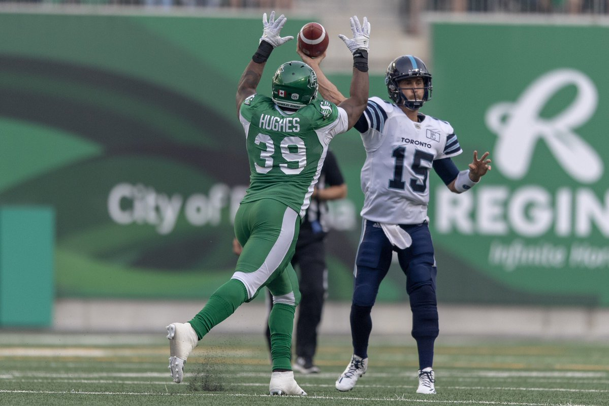 Collaros and Charleston combine for season-opening Rider win over Toronto