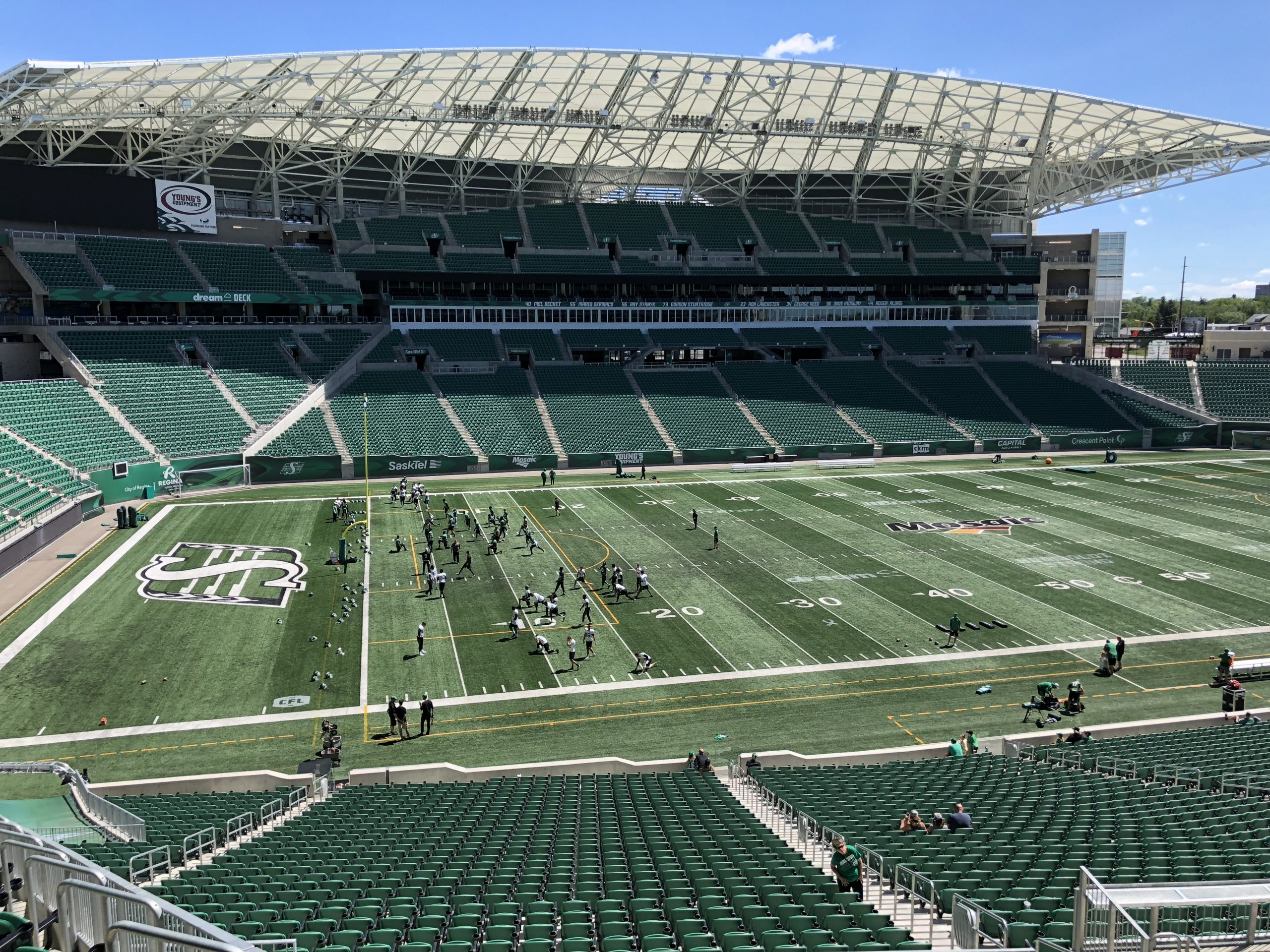 Riders Return To Practice, Still No Collaros