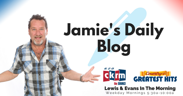 (Jamie) You'd Think A Blog Would Be Easy To Write After The Weekend