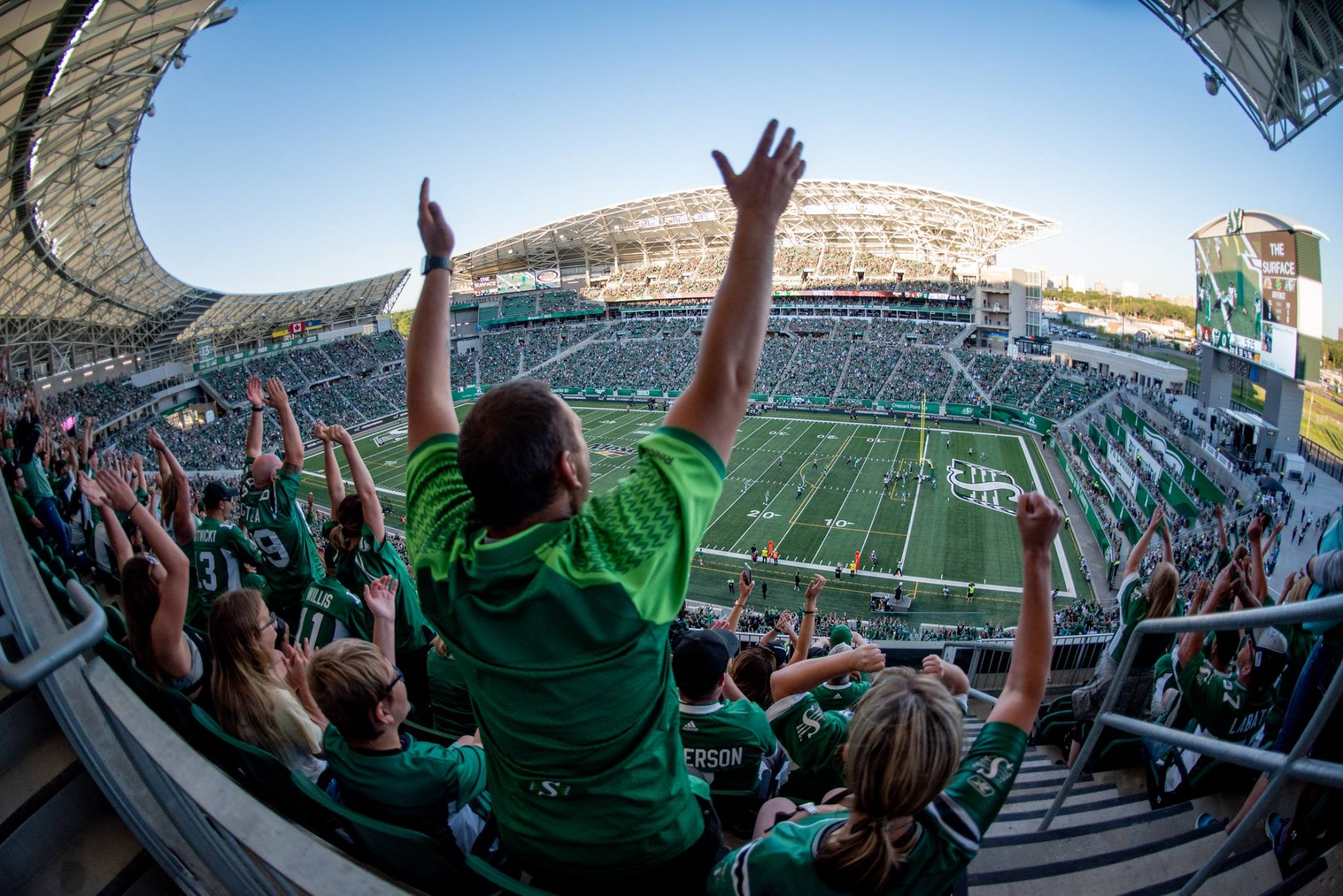 Saturday's Rider game is a sellout
