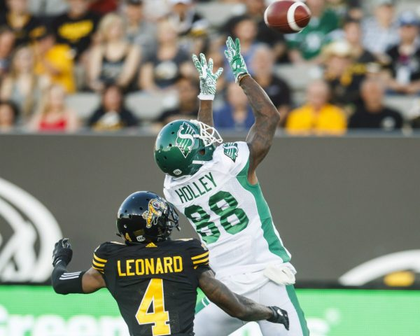 Big 3rd quarter sends Riders to 3rd win of season