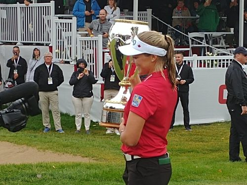 Brooke Henderson wins CP Canadian Women's Open in convincing style