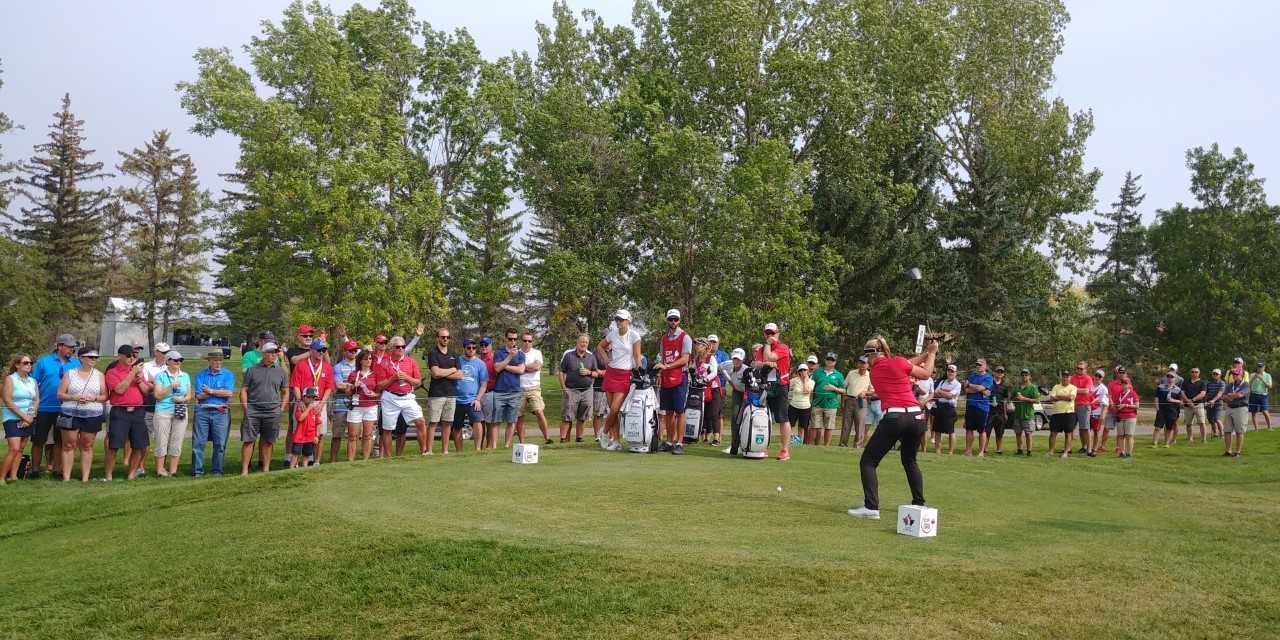Local fans enjoying CP Women's Open in Regina