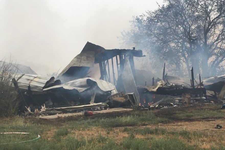 Family of nine without a home after devastating fire