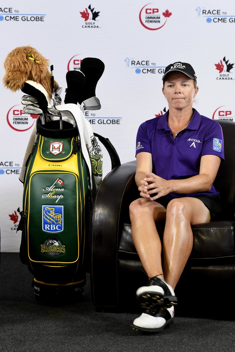 Special Humboldt Broncos Golf Bag Used At Cp Canadian Women S Open Is Auctioned Off