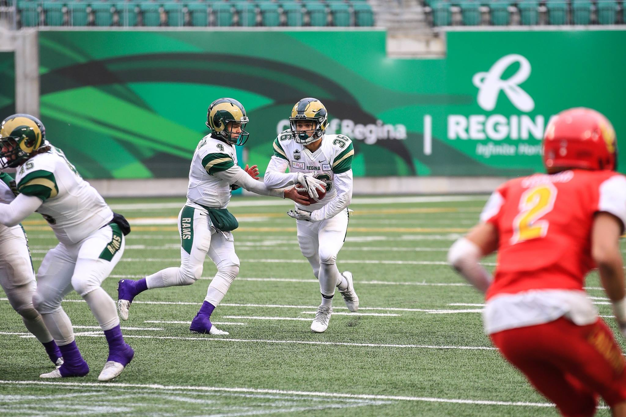Rams RB Atlee Simon signs contract with Calgary Stampeders