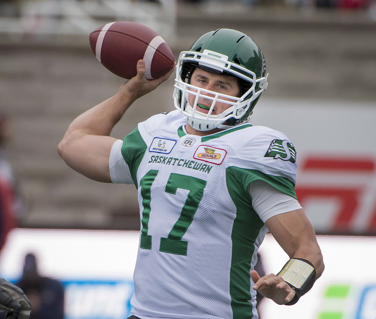 Riders improve to 9-5 with win at Montreal