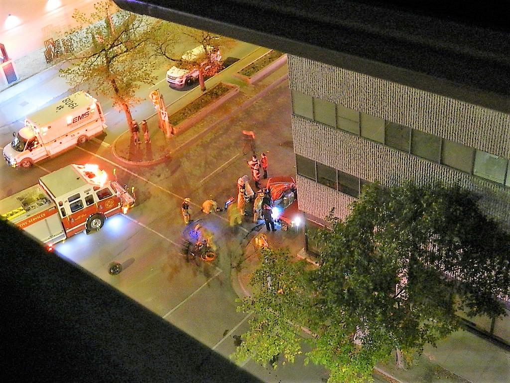 Regina Police investigate early morning car crash