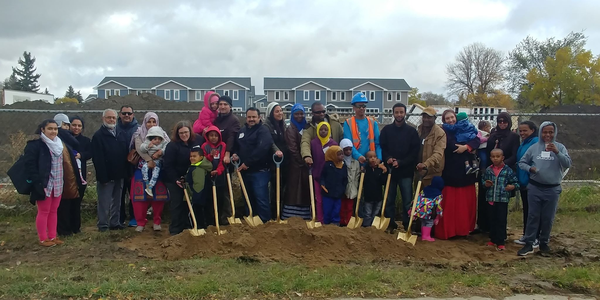 Habitat for Humanity begins construction of 11 new homes at Haultain Crossing