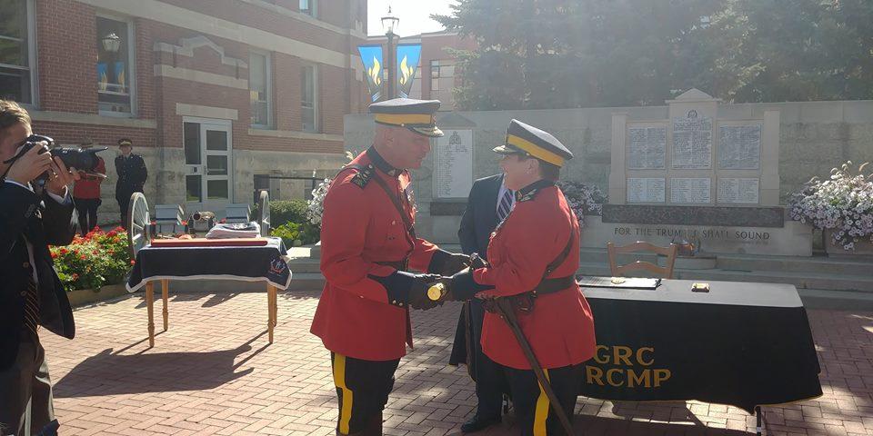 New RCMP Commissioner Brenda Lucki officially sworn in