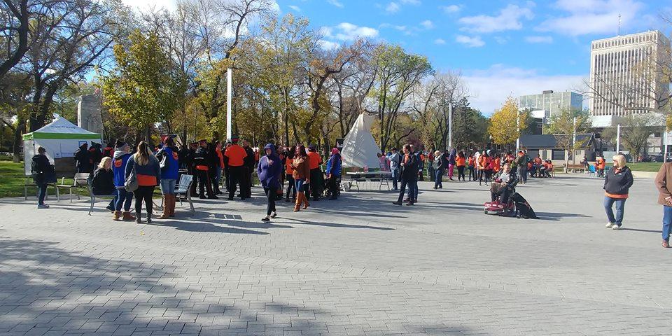 Orange Shirt day recognized in Regina