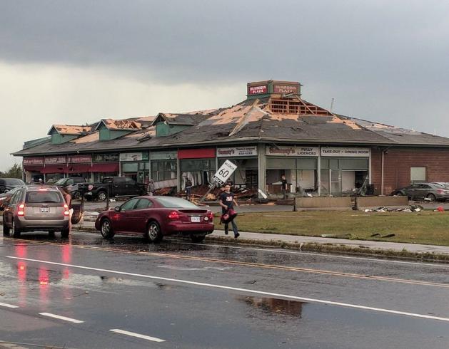 Environment Canada says tornado hits Ottawa
