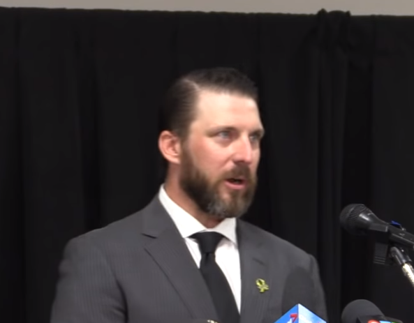 Nathan Oystrick steps down as head coach of the Humboldt Broncos