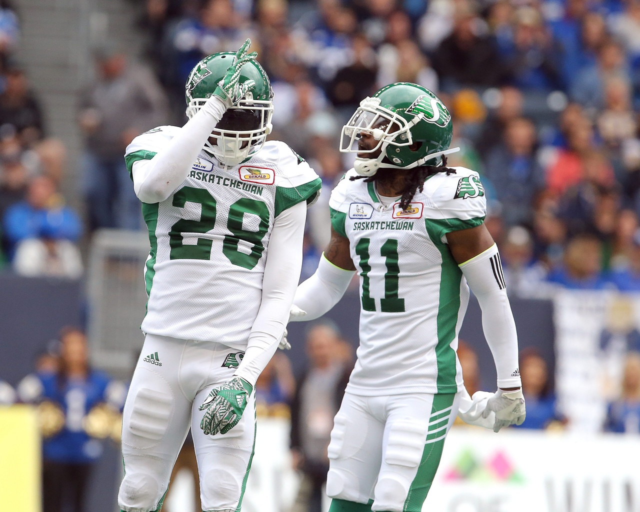 Riders' Purifoy Holds No Grudge Against RedBlacks