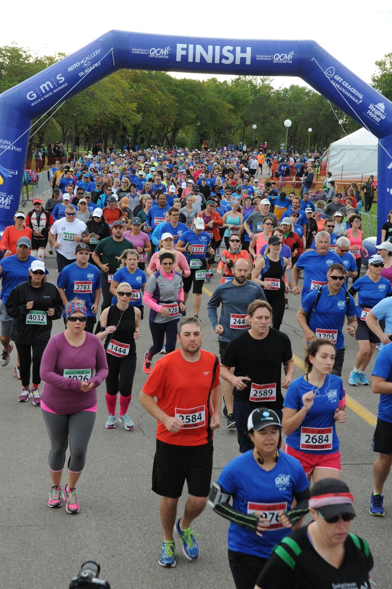 Queen City Marathon events getting underway Friday