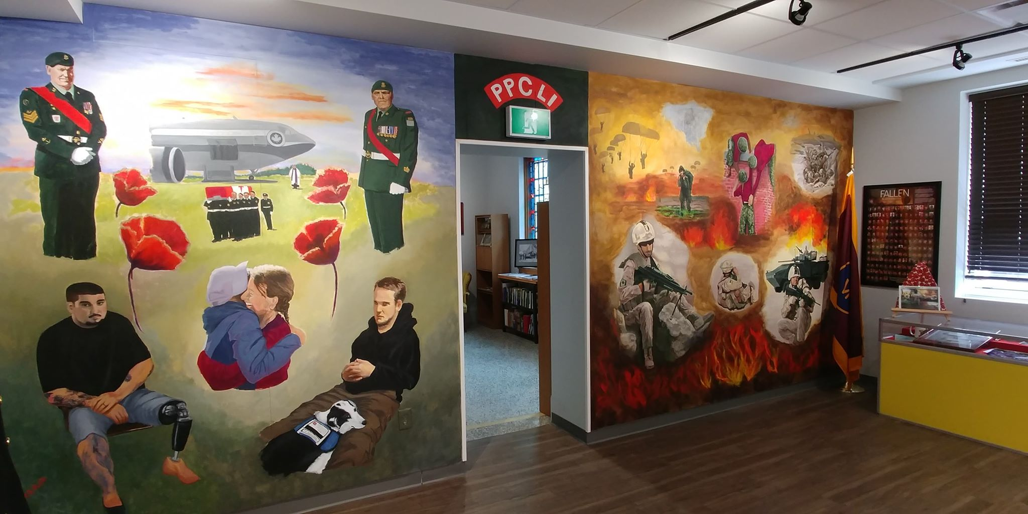 Mural unveiled at Royal Canadian Legion Regina branch