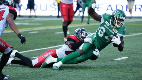 Rookie receivers helping Riders during three-game win streak
