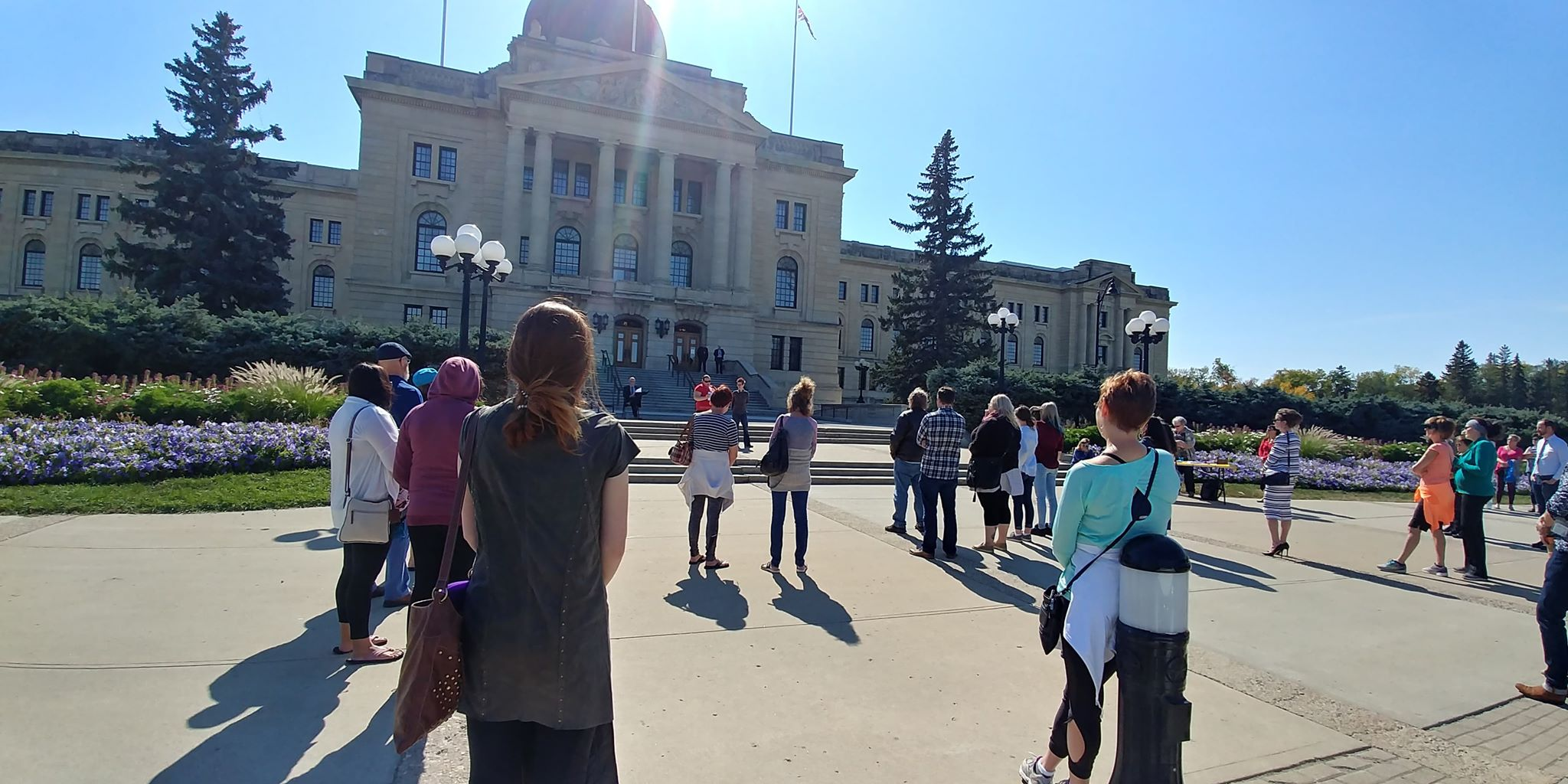 World Suicide Prevention Day walk held in Regina