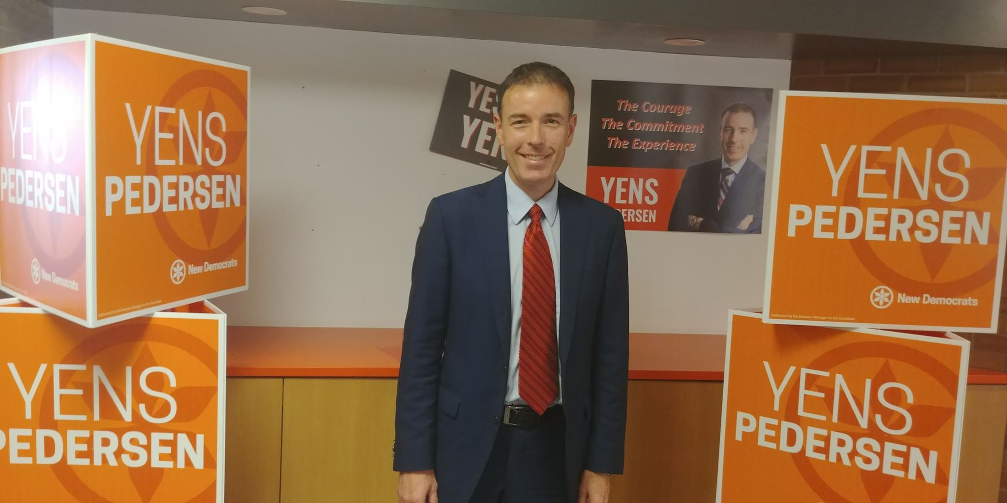 Candidate Profile Regina Northeast: Yens Pedersen