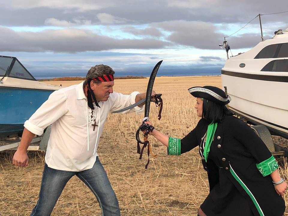 Local singer celebrates Last Saskatchewan Pirate milestone