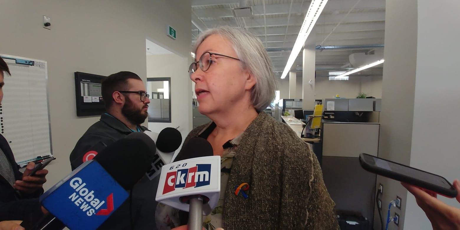 City of Regina working on water main breaks as peak season begins