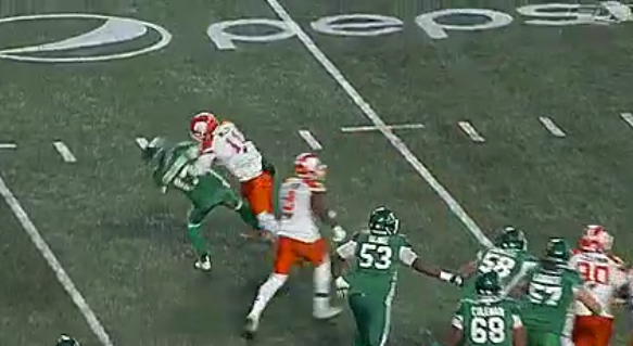 CFL admits to failing after Zach Collaros hit Saturday