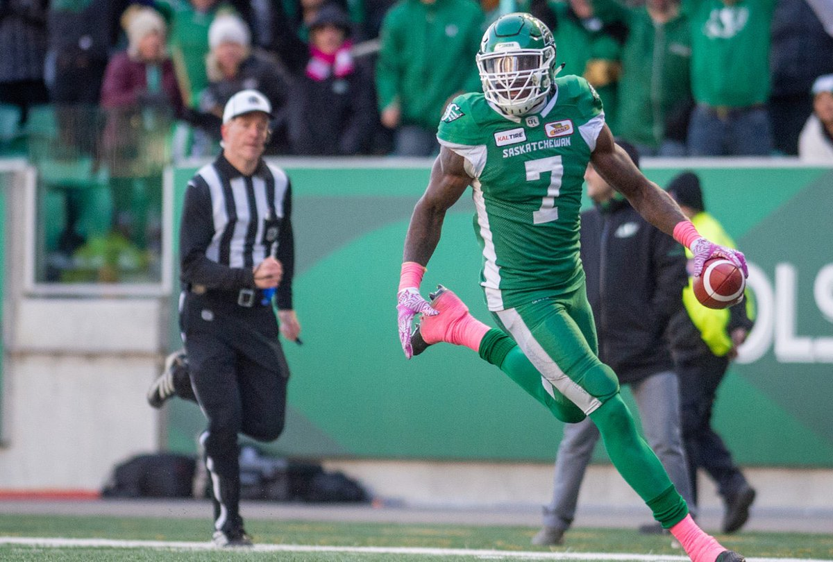 Riders DL Willie Jefferson selected as one of CFL's best for Week 17
