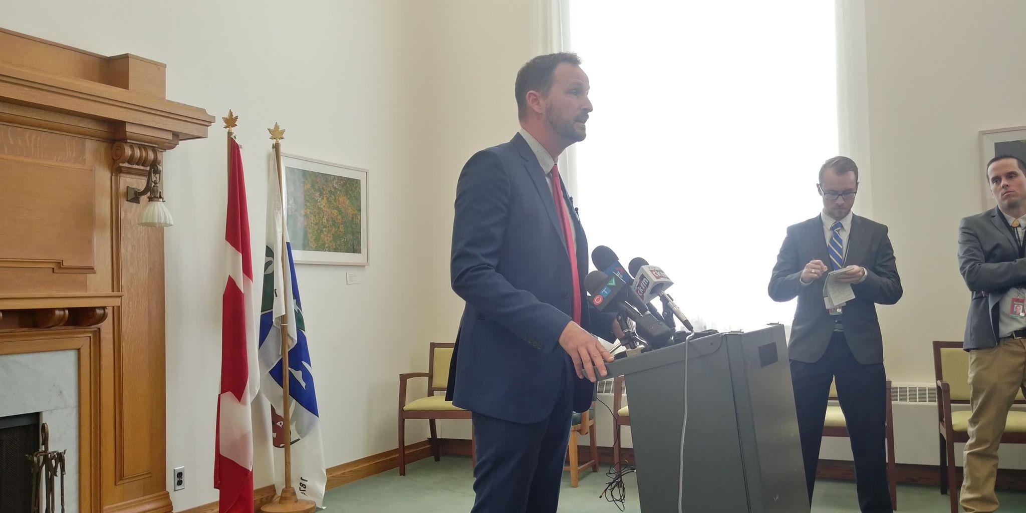 Opposition leader Ryan Meili voices displeasure with throne speech