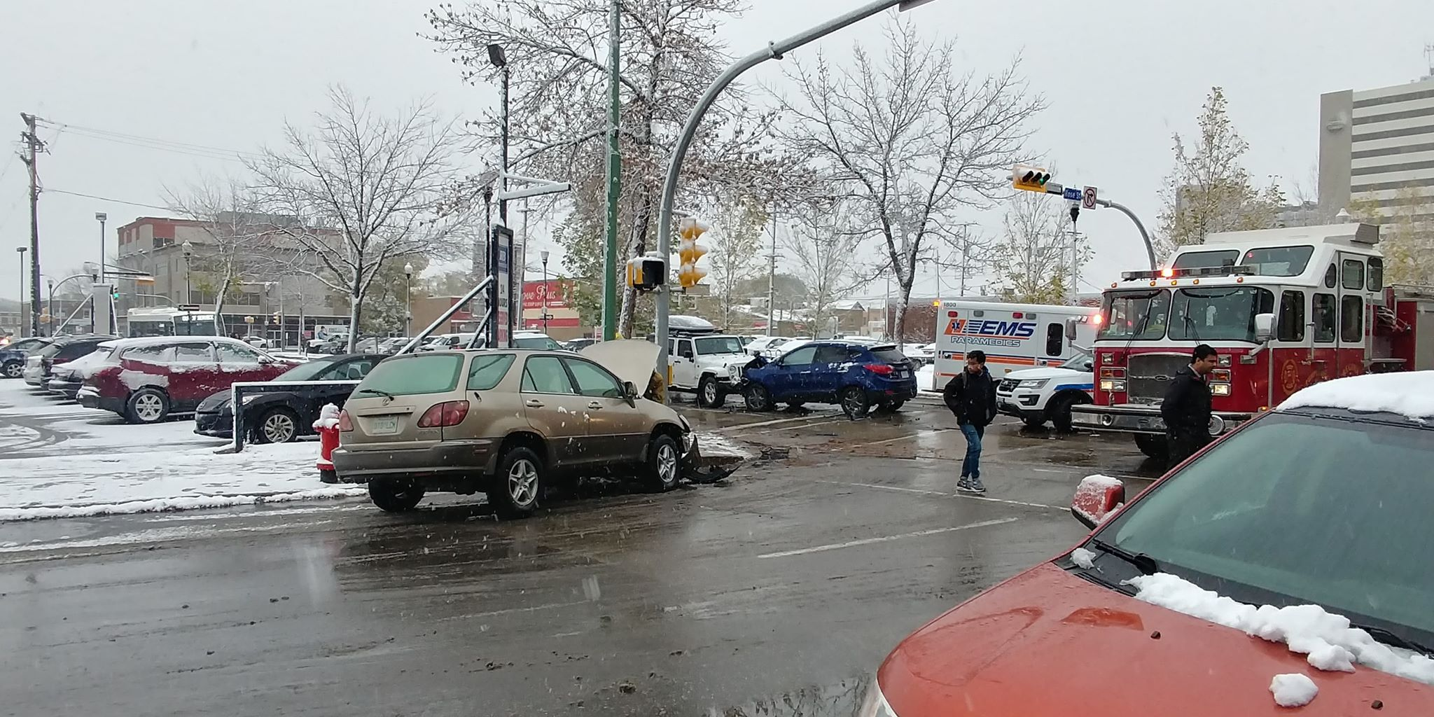 Accident on Rose street and 11th Avenue causing delays