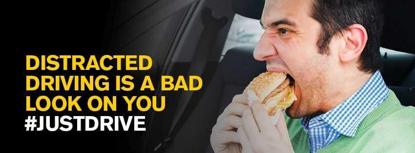 Distracted driving under SGI's traffic safety spotlight for October