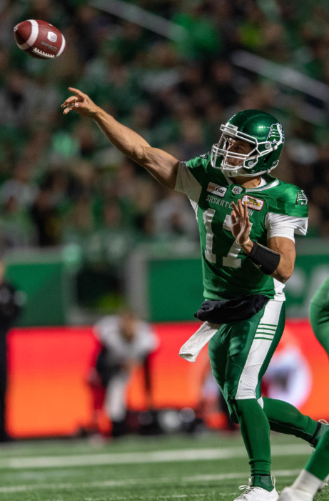Collaros Cleared For Western Semifinal