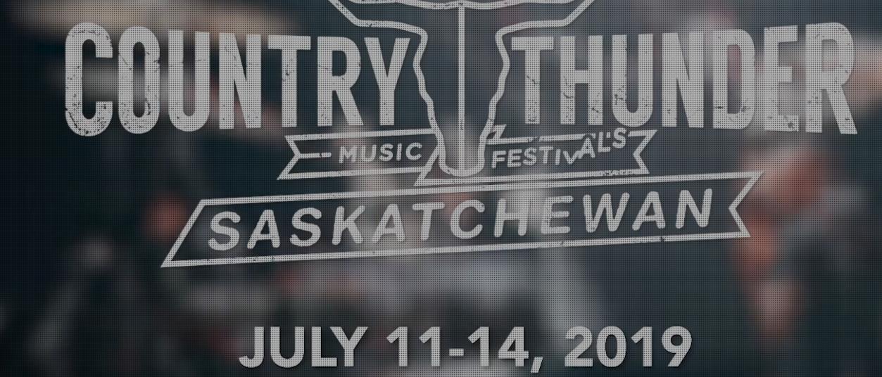 Country Thunder Saskatchewan headliners announced