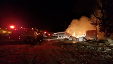 Overnight fire destroys Catholic Church on Cowessess First Nation
