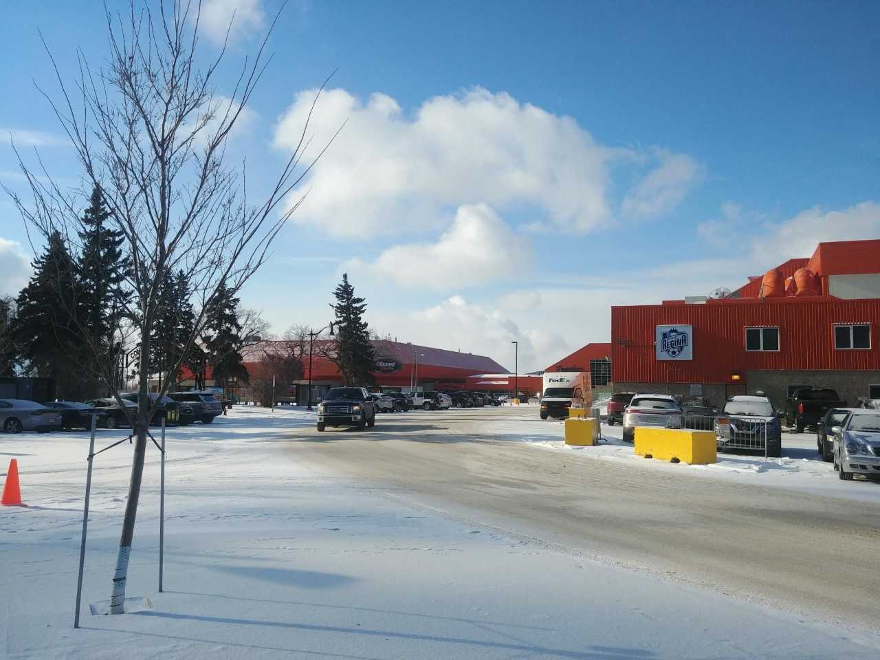 Parking at Evraz Place to be in high demand on Sunday