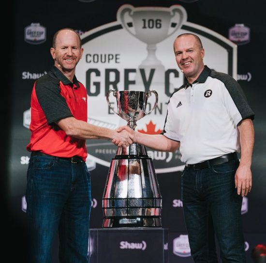 Grey Cup coaches discuss many topics in advance of Sunday's game