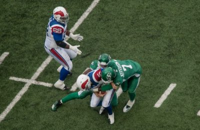 Riders place five on CFL West all-star team