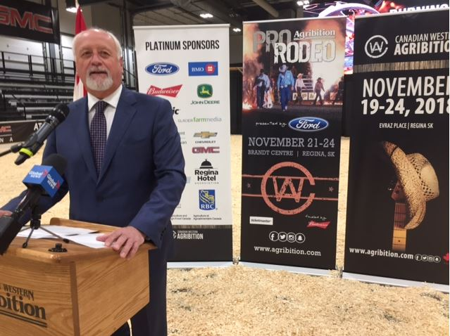 Agribition receives new federal-provincial funding for market development