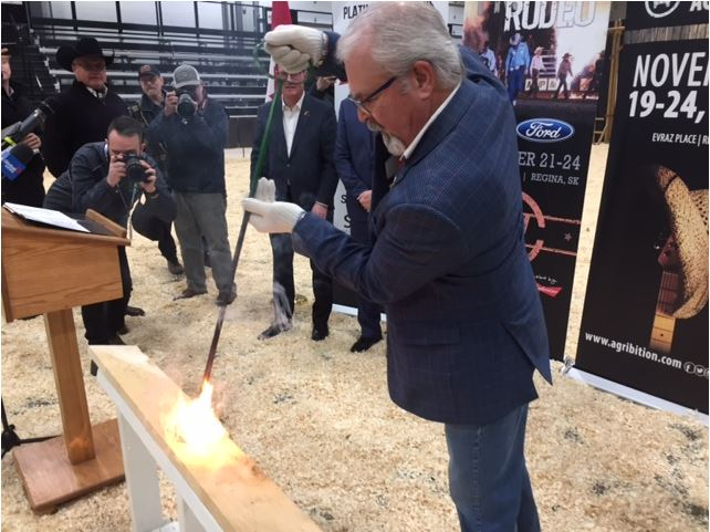 """Burning of the Brand"" officially opens Canadian Western Agribition in Regina"