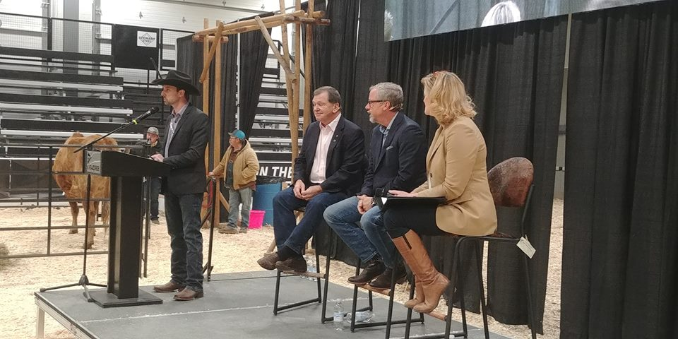 Former premier Brad Wall joins free trade panel discussion at Canadian Western Agribition