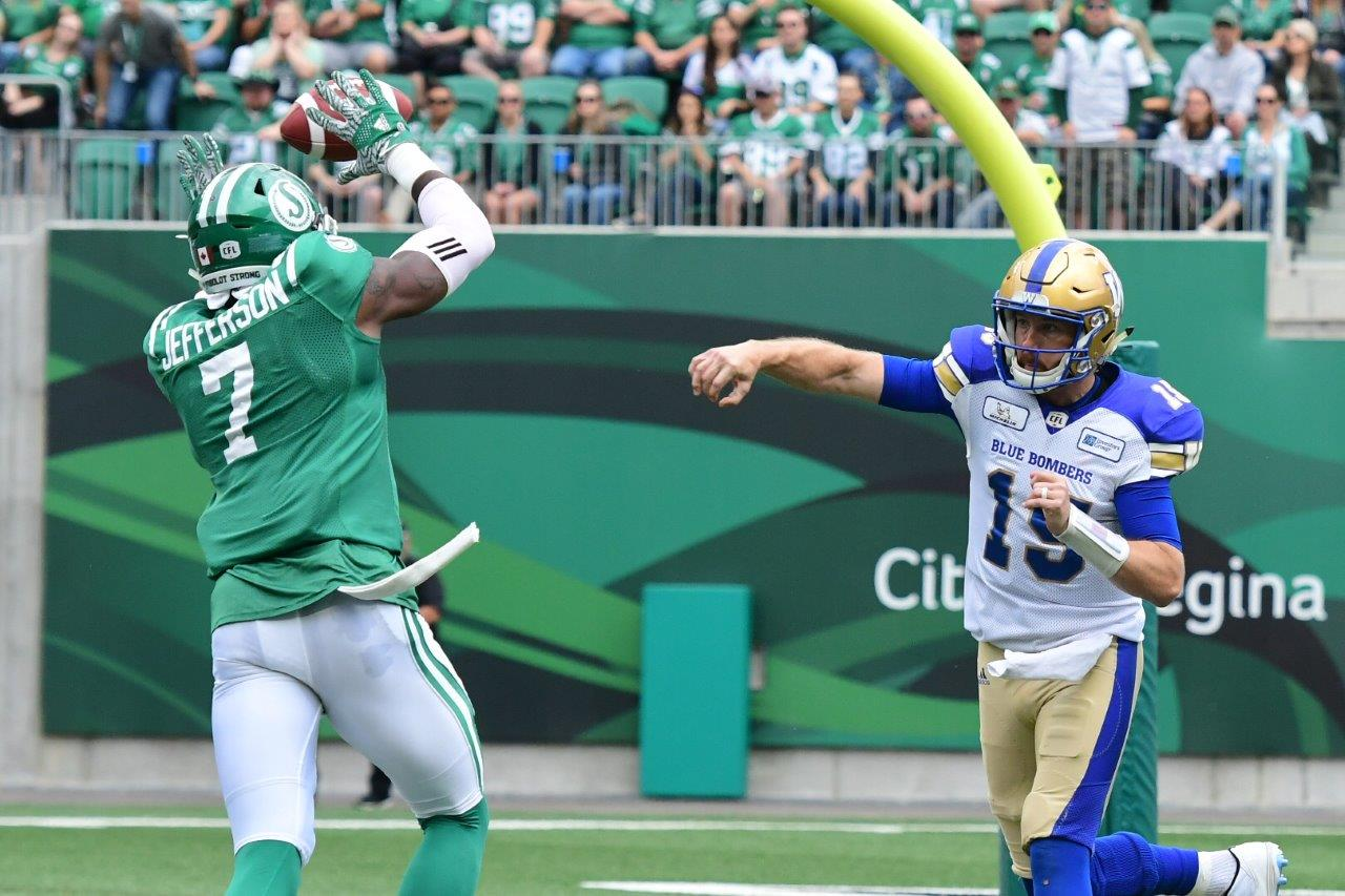 Roughriders To Host Blue Bombers In 2018 CFL Western Semifinal