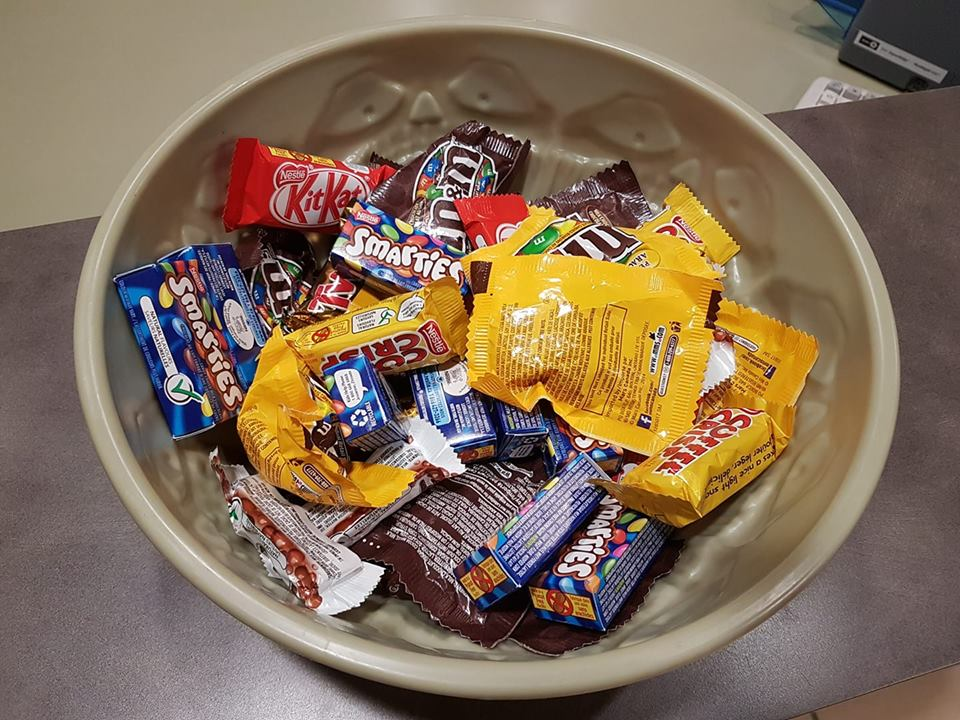 How many trick or treaters did you get?
