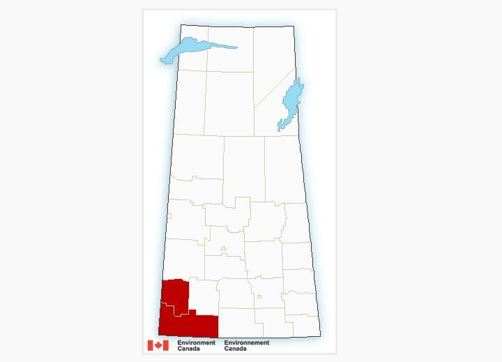 Southwest Saskatchewan facing snow, freezing rain warnings from Environment Canada