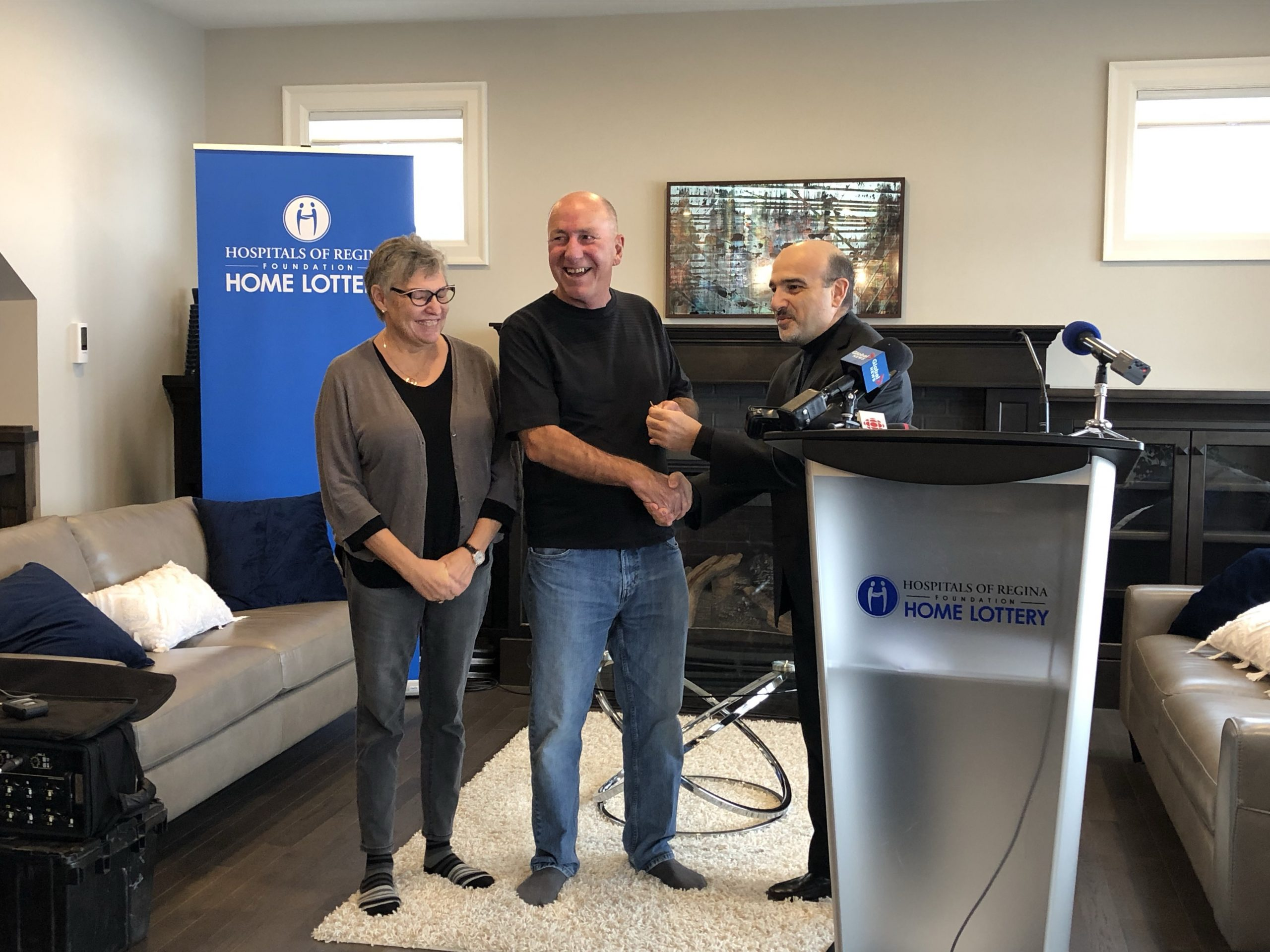 Home lottery winners say donations hit close to home this year