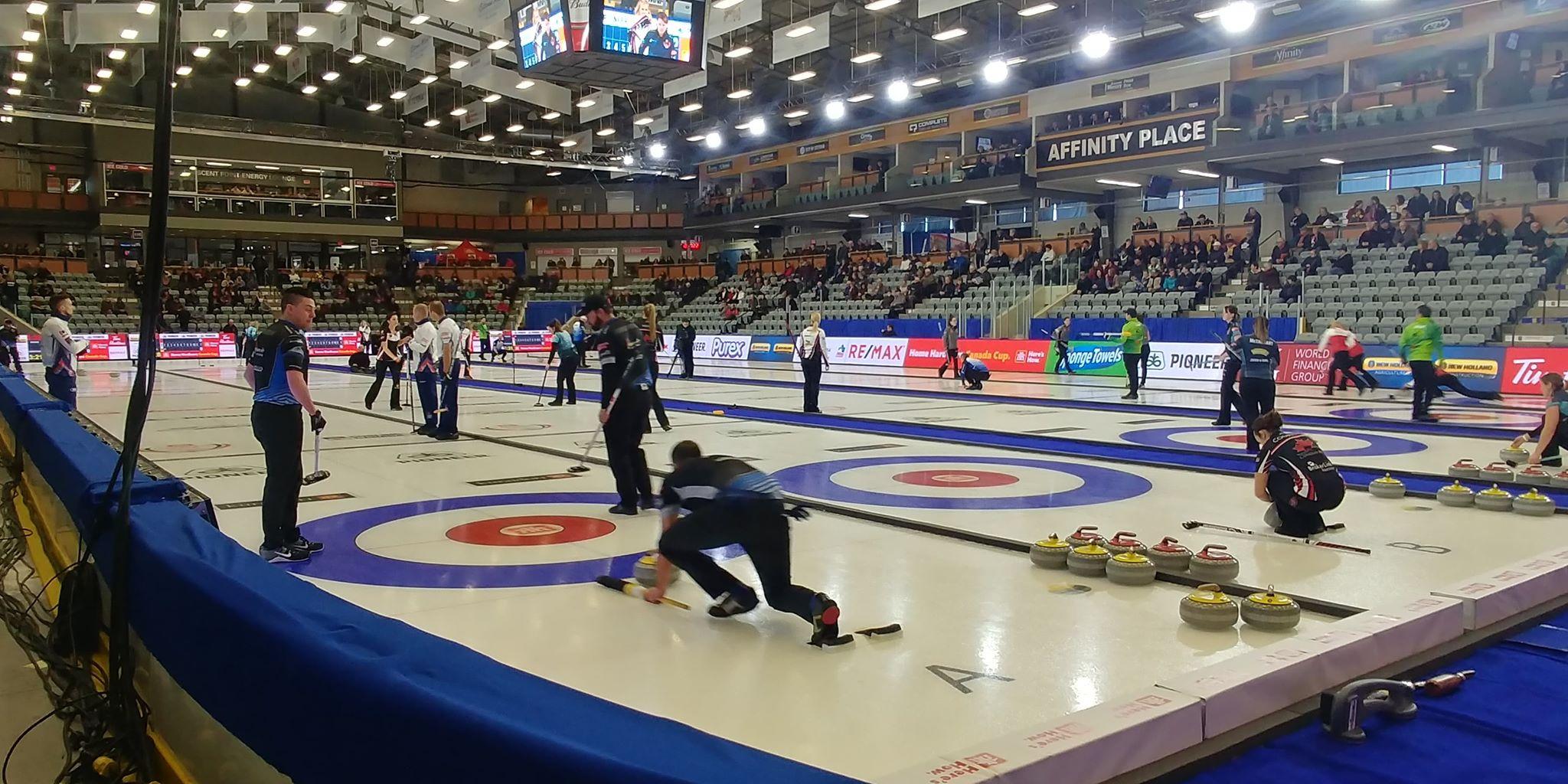 Estevan experiences wildly successful Canada Cup of Curling