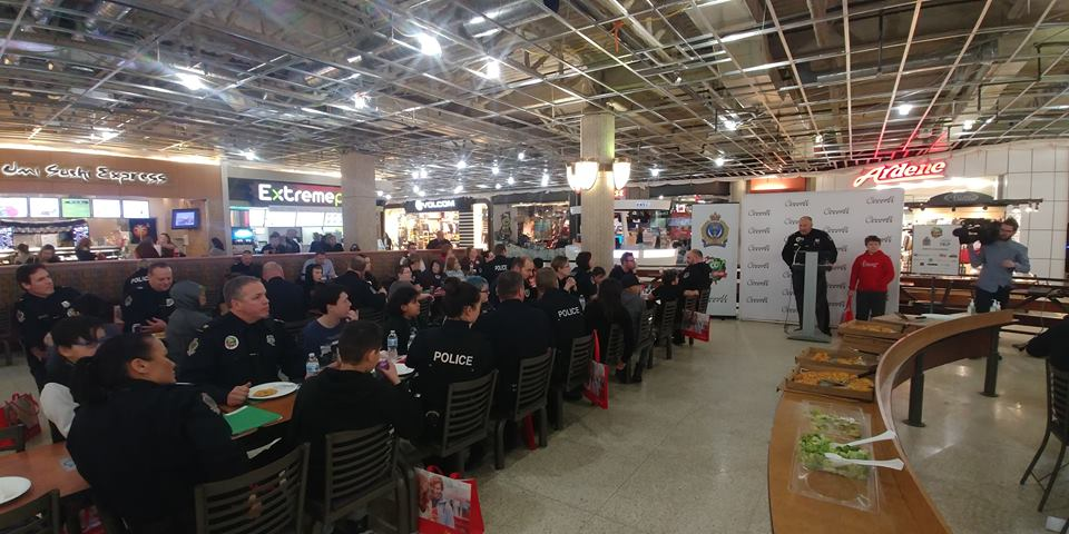 Cop shop returns to Cornwall Centre for fourth year